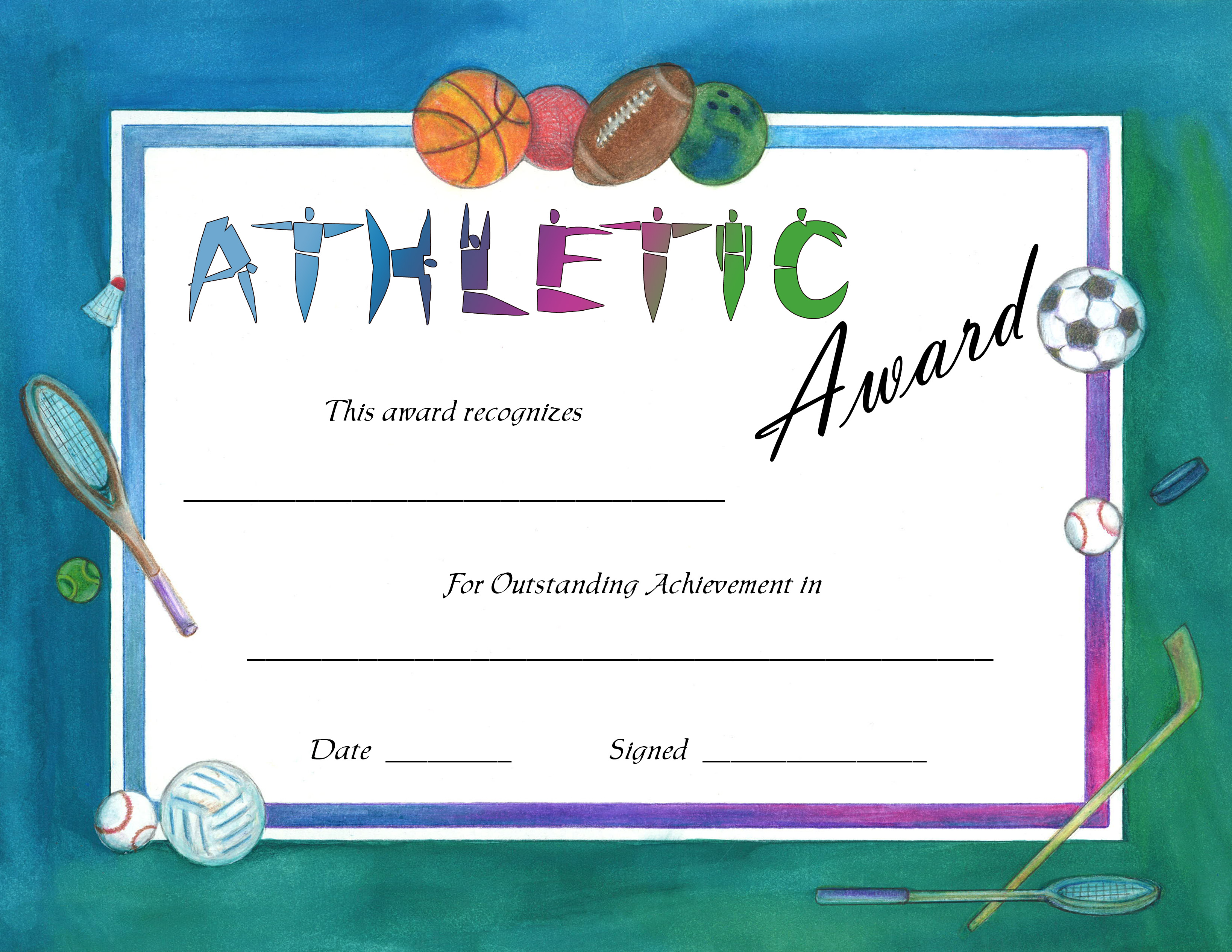 PAP555Sportsjpg – Sports Award Certificates